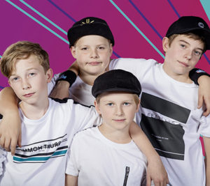 The One And Only Boyband optræder til BørnefestiBAL 2018